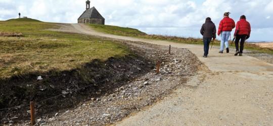 Réaménagement paysager pour la montagne Saint-Michel