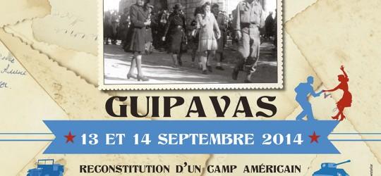Un camp américain de 1944 reconstitué