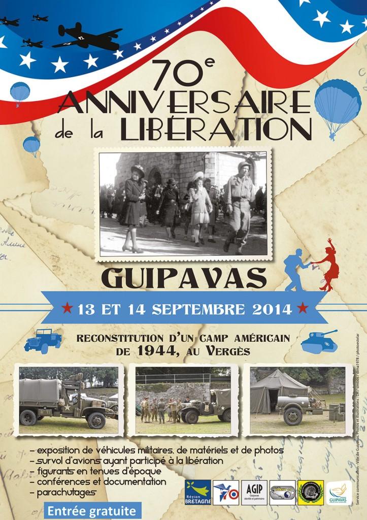 camp américain à Guipavas