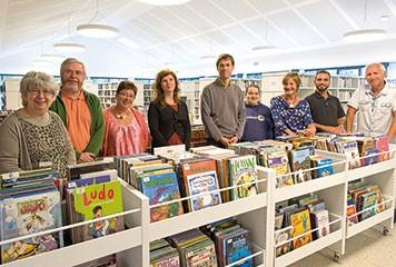 Bibliothèque du Finistère, ouverture d'une antenne à Saint Divy