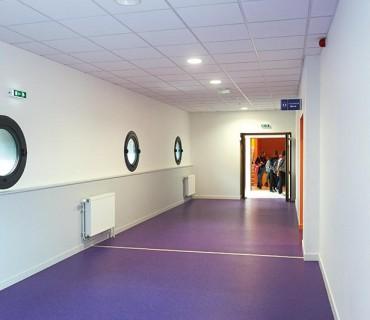 college keranroux brest couloir