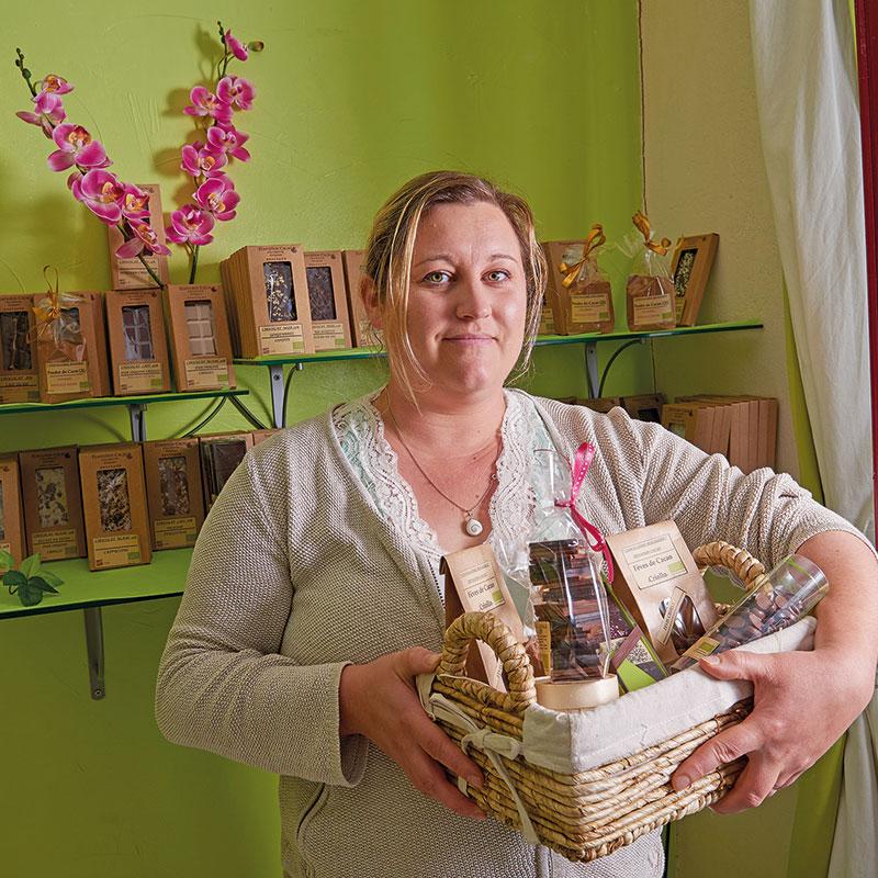 Prune Jestin, chocolaterie bio et équitable