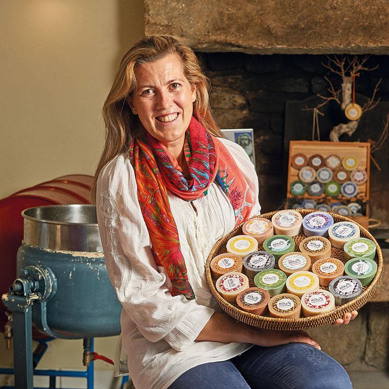 Tiphaine Chalaron, créatrice de savons naturels