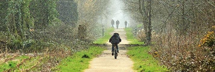 La voie verte Roscoff-Concarneau