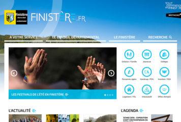 Le nouveau site internet du Conseil départemental