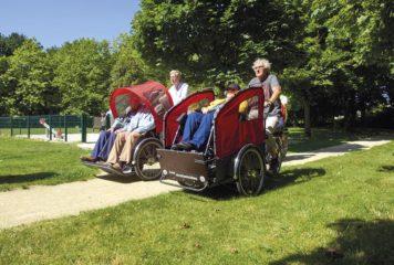 Des triporteurs au service des personnes à mobilité réduite